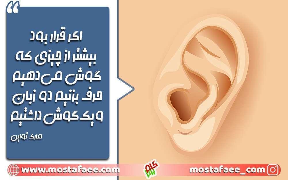 تاثیر گوش و زبان در هنر خوب گوش دادن