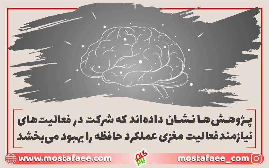 فعالیت مغزی چگونه باعث افزایش هوش می شود