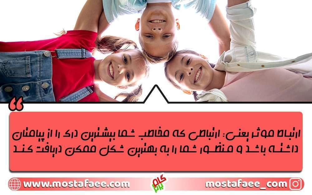 فن بیان کودکان کمک میکند تا ارتباط موثر آن ها به خوبی شکل بگیرد