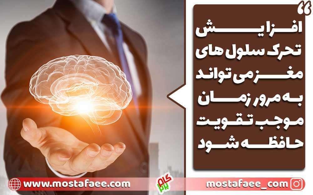 برای تقویت حافظه چه بخوریم؟ تحرکات مغز حافظه را بهبود می بخشد