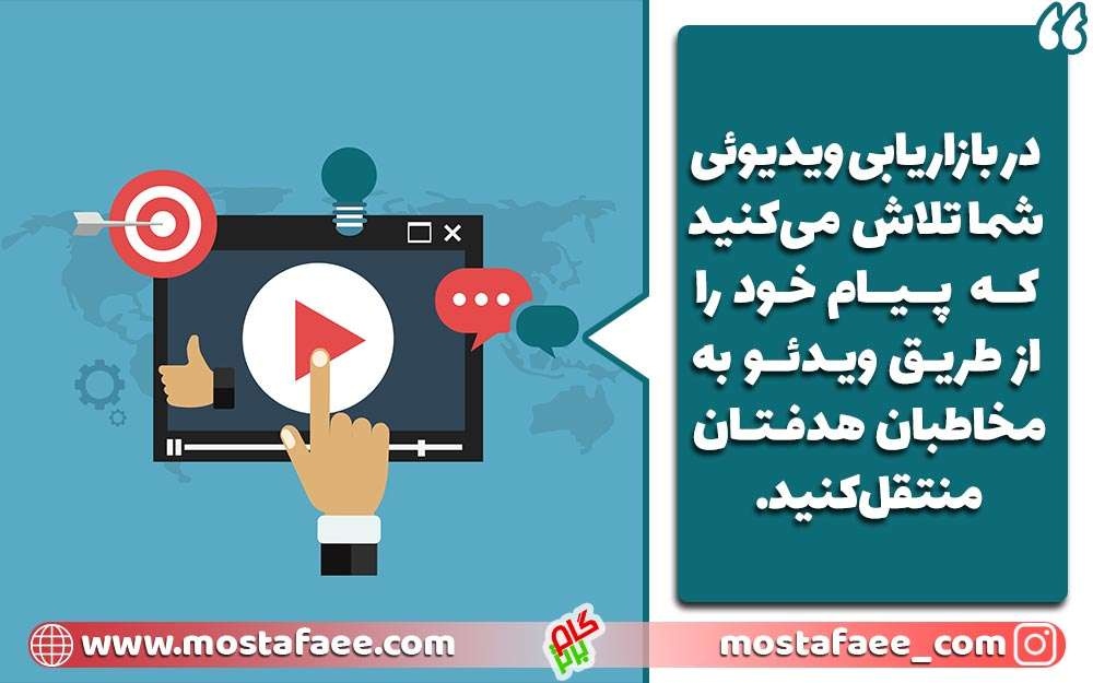 بازاریابی ویدئویی یکی از انواع بازاریابی است