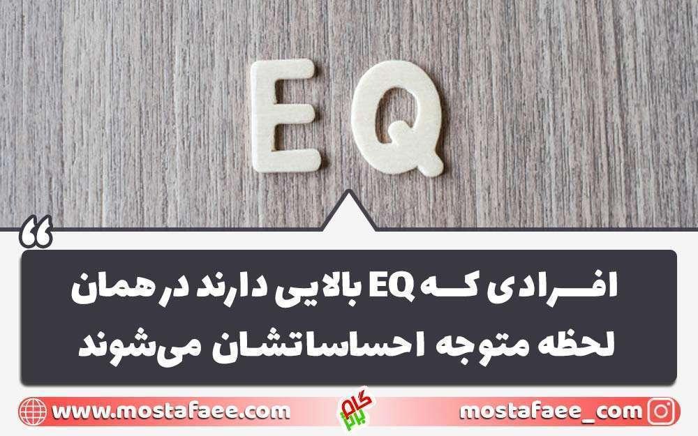 افرادی که هوش هیجانی بالایی دارند eq بالایی هم دارند