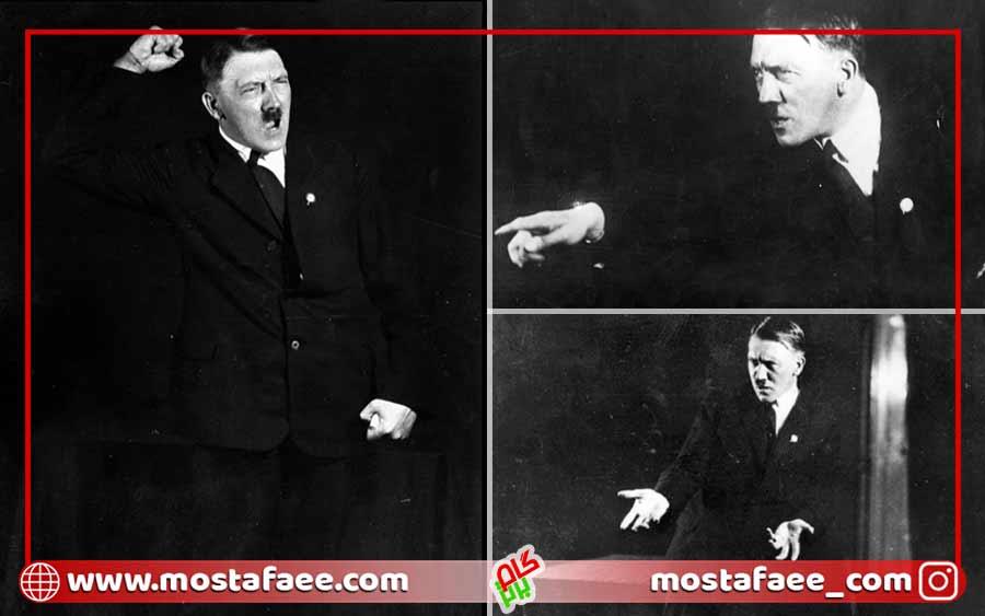 تمرین سخنرانی هیتلر عکس